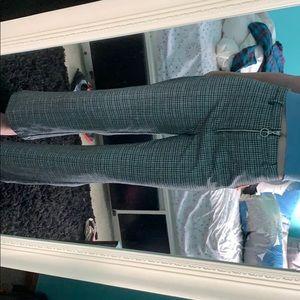 Pants - plaid bootcut pants size s